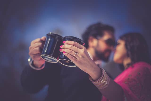 Winter Engagement Session of Aarti & Ajay