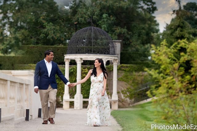 Engagement Photoshoot at Longwood Gardens – Claire and Ritam